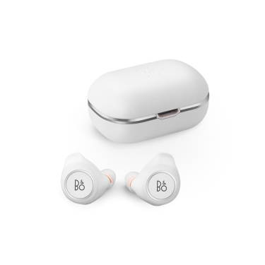 Beoplay E8 - Motion white case and earphones