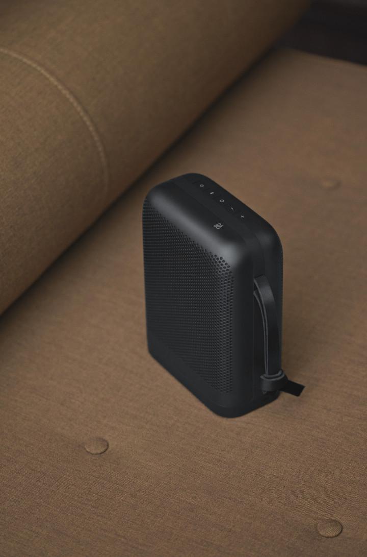 Beoplay P6 højttalere ledning detalje sort