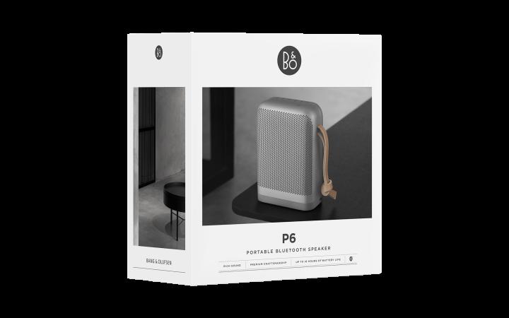 Beoplay P6 højttalere tekn. design