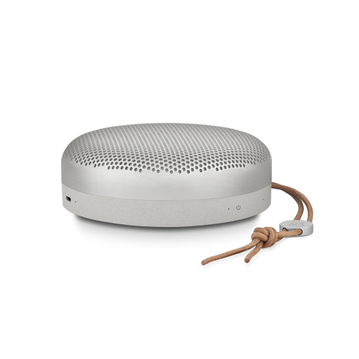 Beoplay A1 contrast edition in natural brushed color