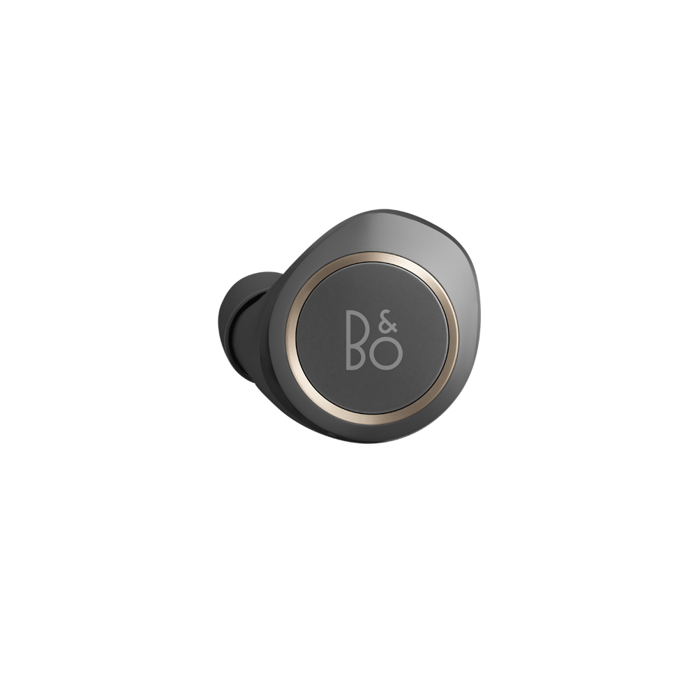 Beoplay E8 Left Earbuds Charcoal Sand 1