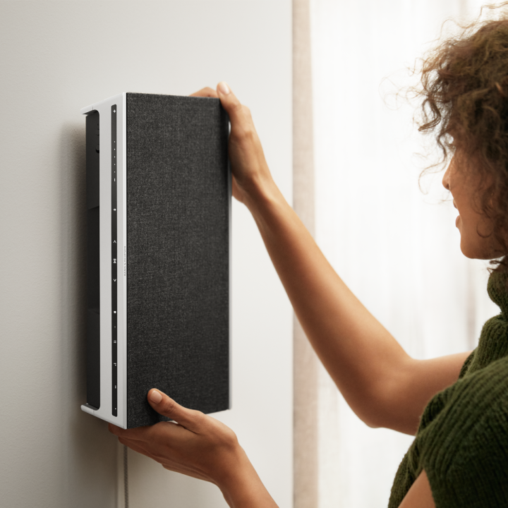 Beosound Level on wall