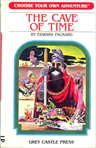 The Cave of Time. SOC 2 is the choose your own (adventure) trust service principles.