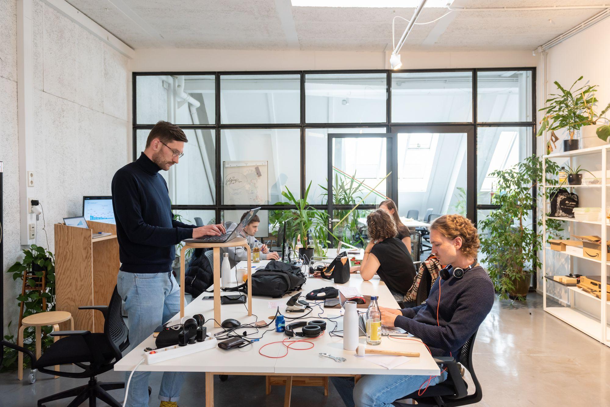 german team working