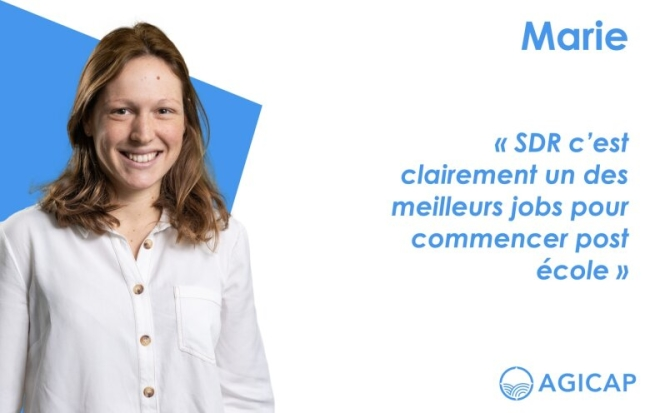 Agicap x Vocation : Sales Development Representative avec Marie