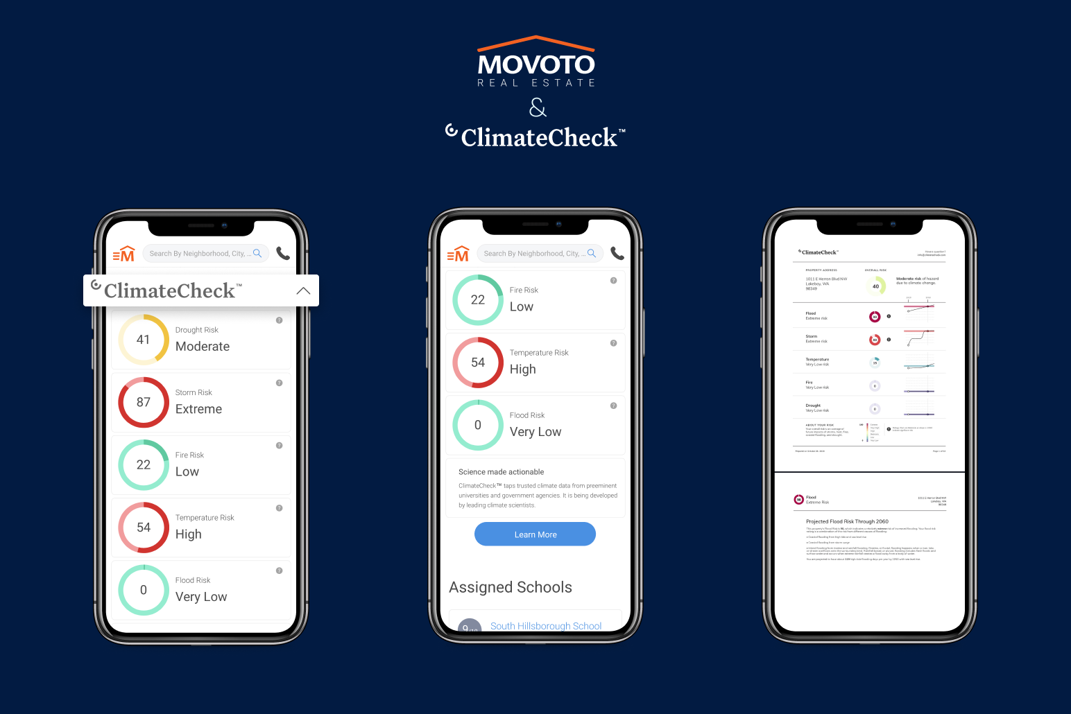 OJO Labs partners with ClimateCheck to bring critical climate hazard insights to Movoto.com for buyers and sellers nationwide