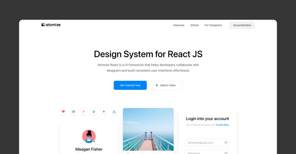 Atomize Design - 讓人心動的 6 個 React Design Systems