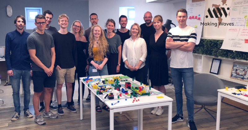 Lego workshop in Making Waves Poland