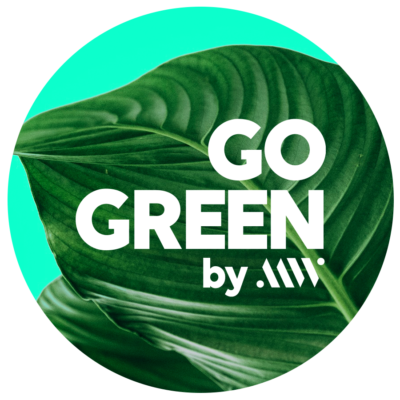 Logo Go Green action by MW