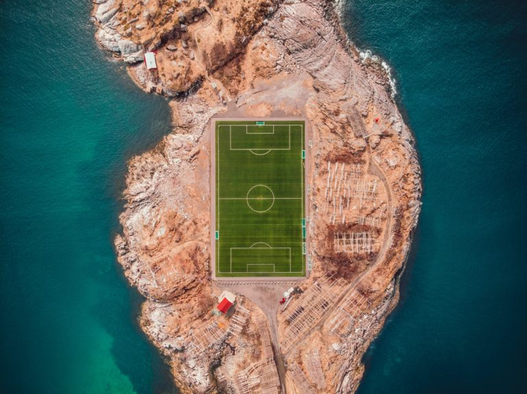 Pitch on the water