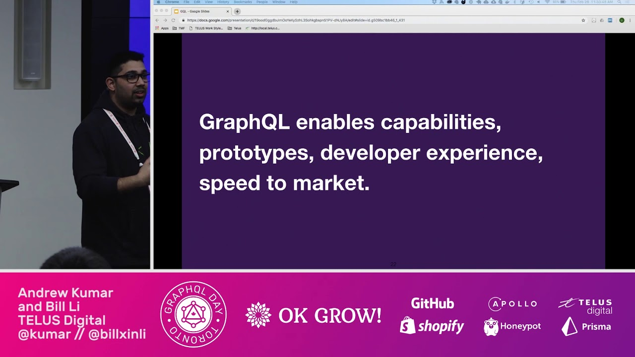 Support unlimited and ever changing customer experiences @ GraphQL Day Toronto