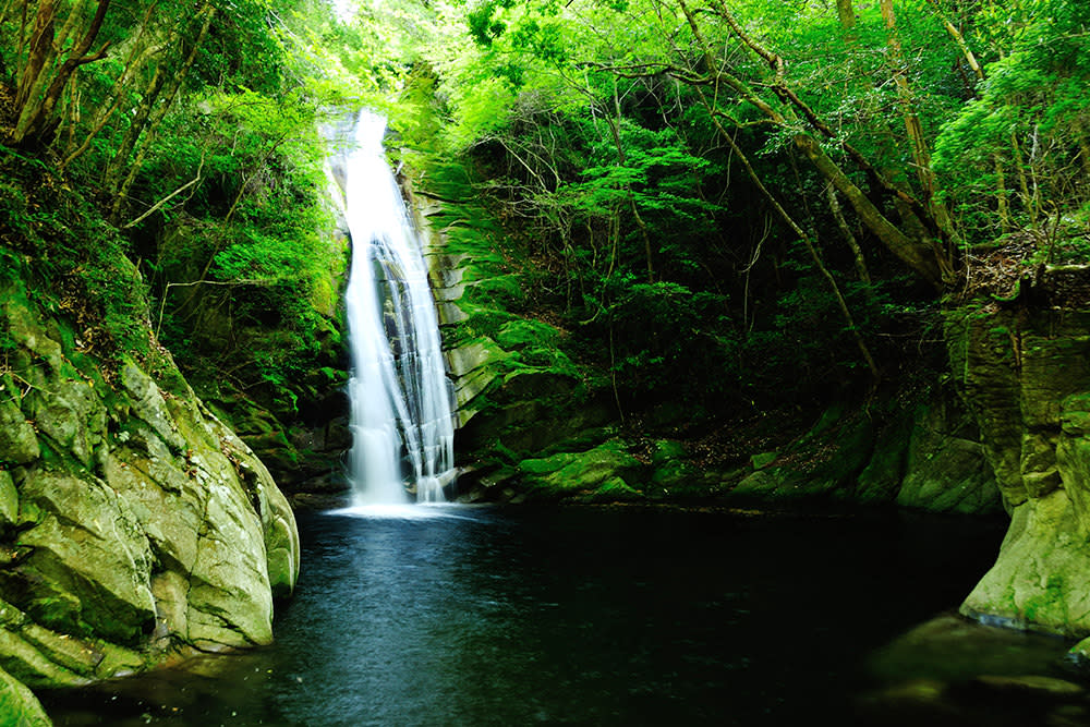 広瀬渓谷 琴の滝