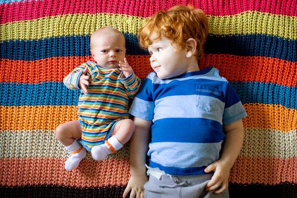 Có thêm con: Giúp bé lớn thích nghi