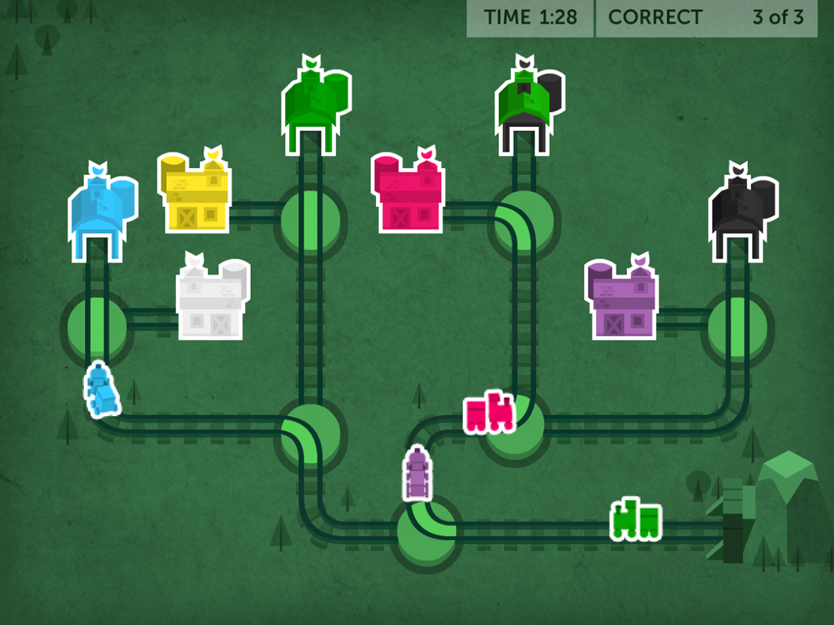 Train of Thought: A Closer Look at Lumosity's Most Popular Game