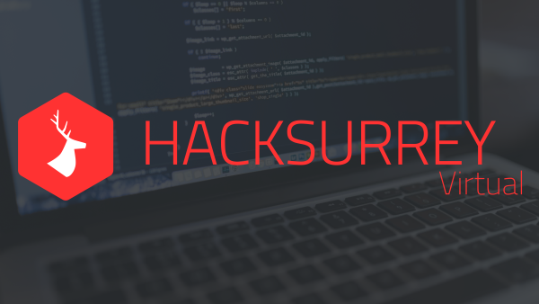 HackSurrey Virtual banner
