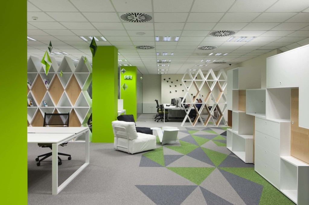 The office of Siteground, designed by Funkt.eu. Photo: Brava Casa