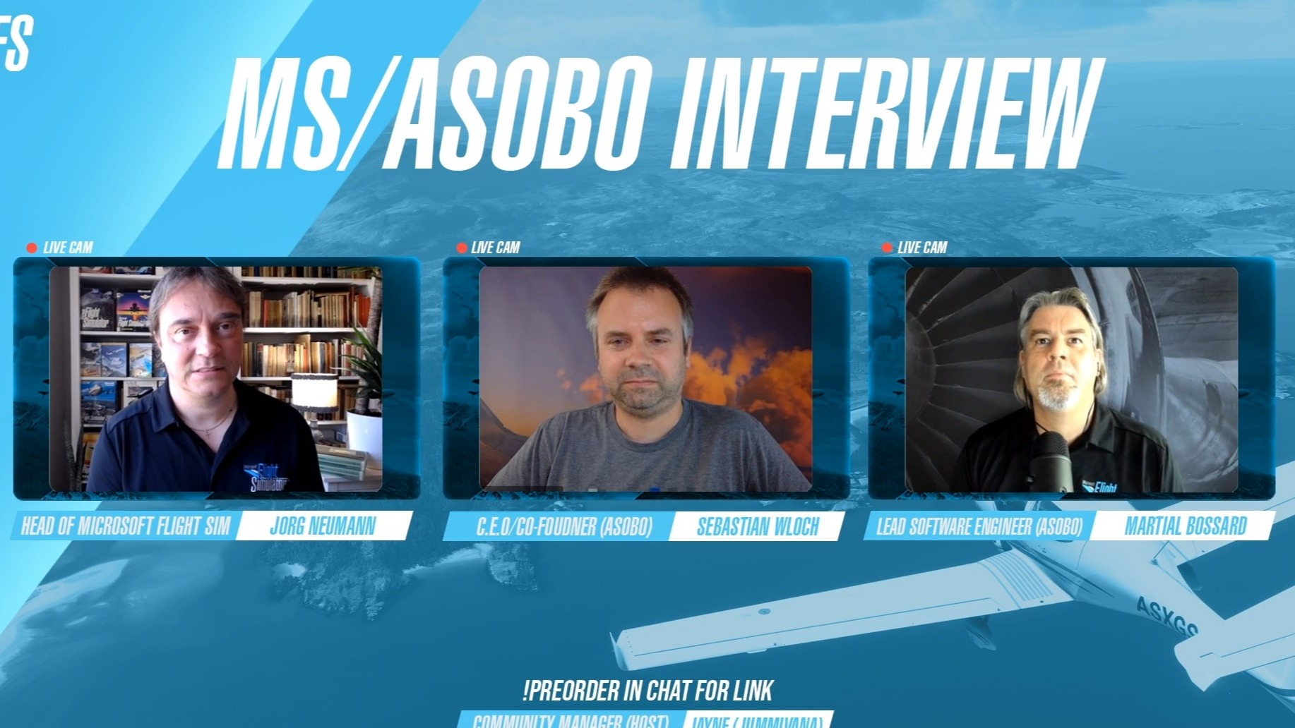 State Of The Sim: Key Take Aways From The Twitch Developer Q&A With MS/Asobo