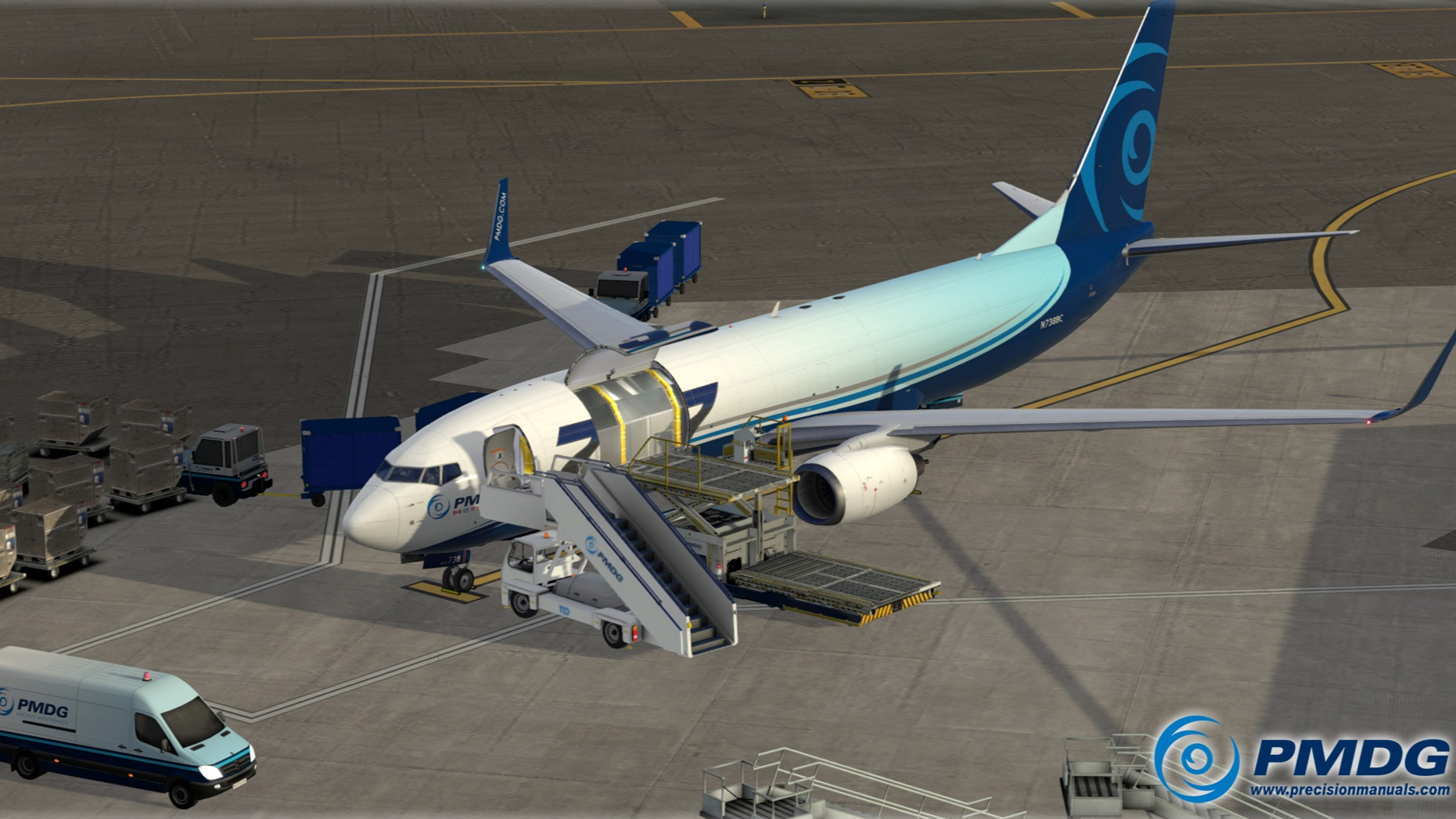 PMDG 737NGXu Cargo Expansion Released