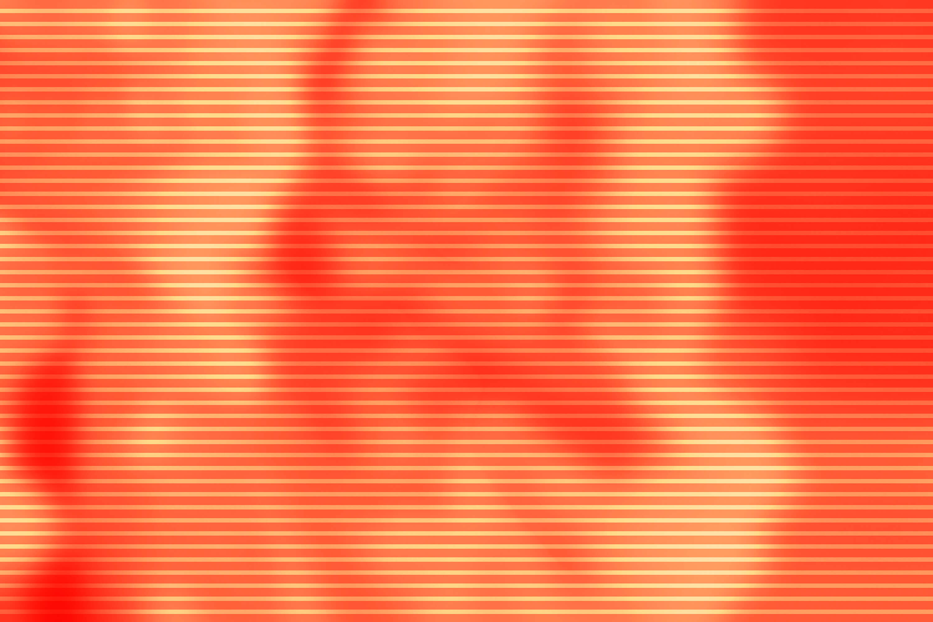 An orange colour field shows slight abstract contours.