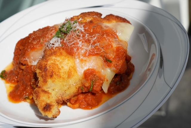 Chicken Cutlet Parmesan