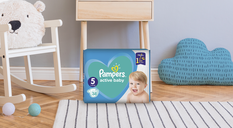 Pelene Pampers® active baby