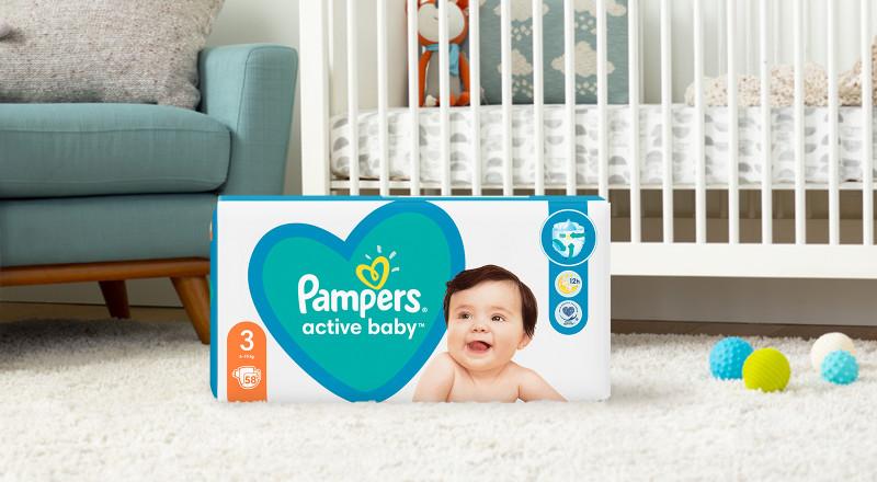 Pelene Pampers® active baby