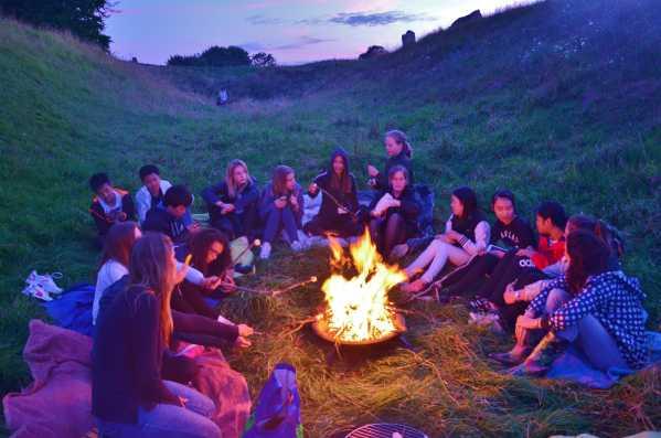 Marlborough-Summer-School-Lagerfeuer