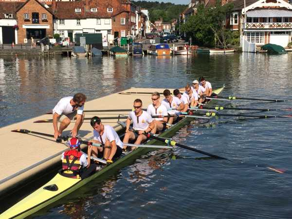 Shiplake College - rowing competition: Henley 2015