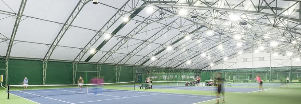 Ellesmere College - neues Tennis Centre