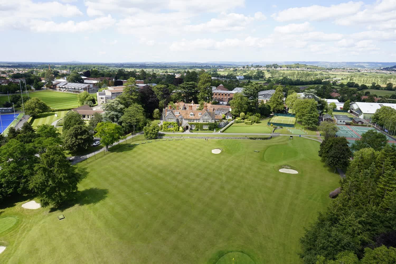 Millfield Summer School - Aerial