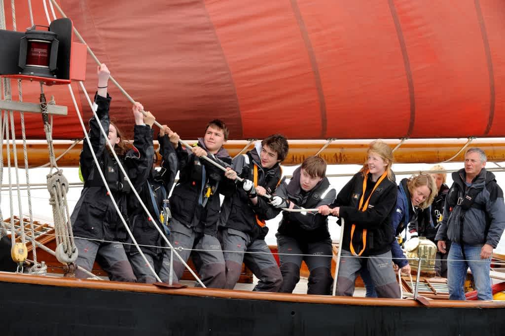 Dauntsey's School - on Sailing Boat Jolie Brise
