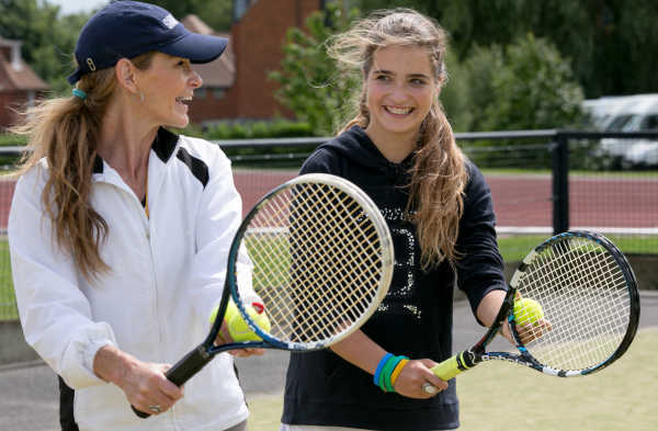 Radley Summer School - Tennis Training