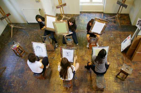 Shrewsbury Summer School - Kunstunterricht