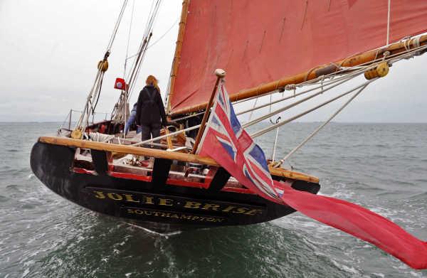Dauntsey's School - Schuleigenes Segelschiff - Jolie Brise