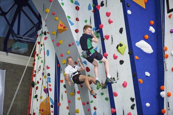 Royal Hospital School - Climbing Wall