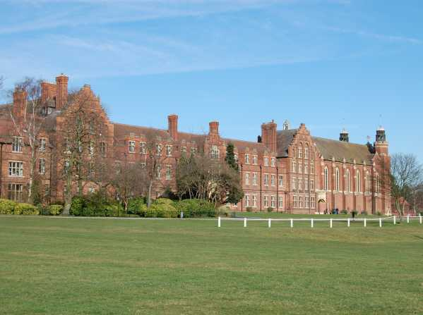 Worksop College  - Schulgebäude