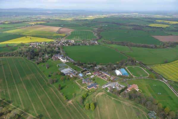 Concord College - Aerial