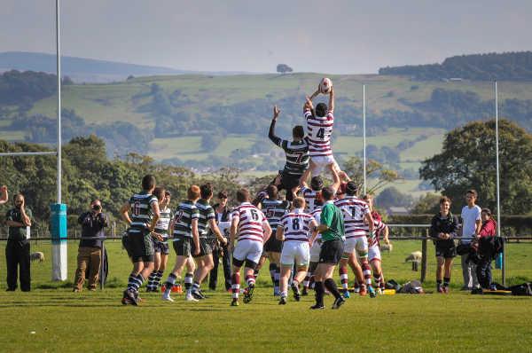 Stonyhurst College - Rugbyspiel