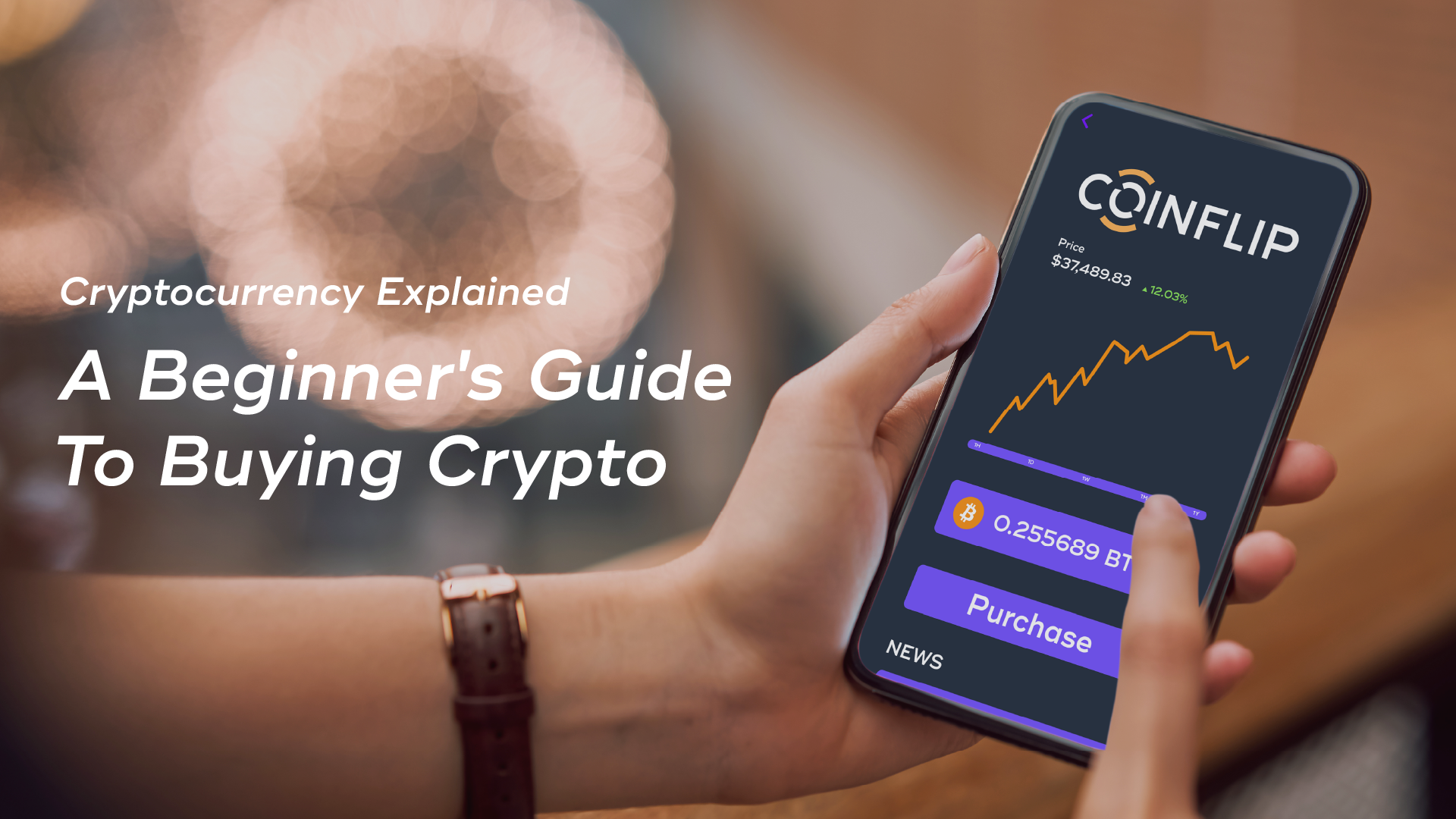 Cover Image for Cryptocurrency Explained: A Beginner's Guide to Buying Crypto