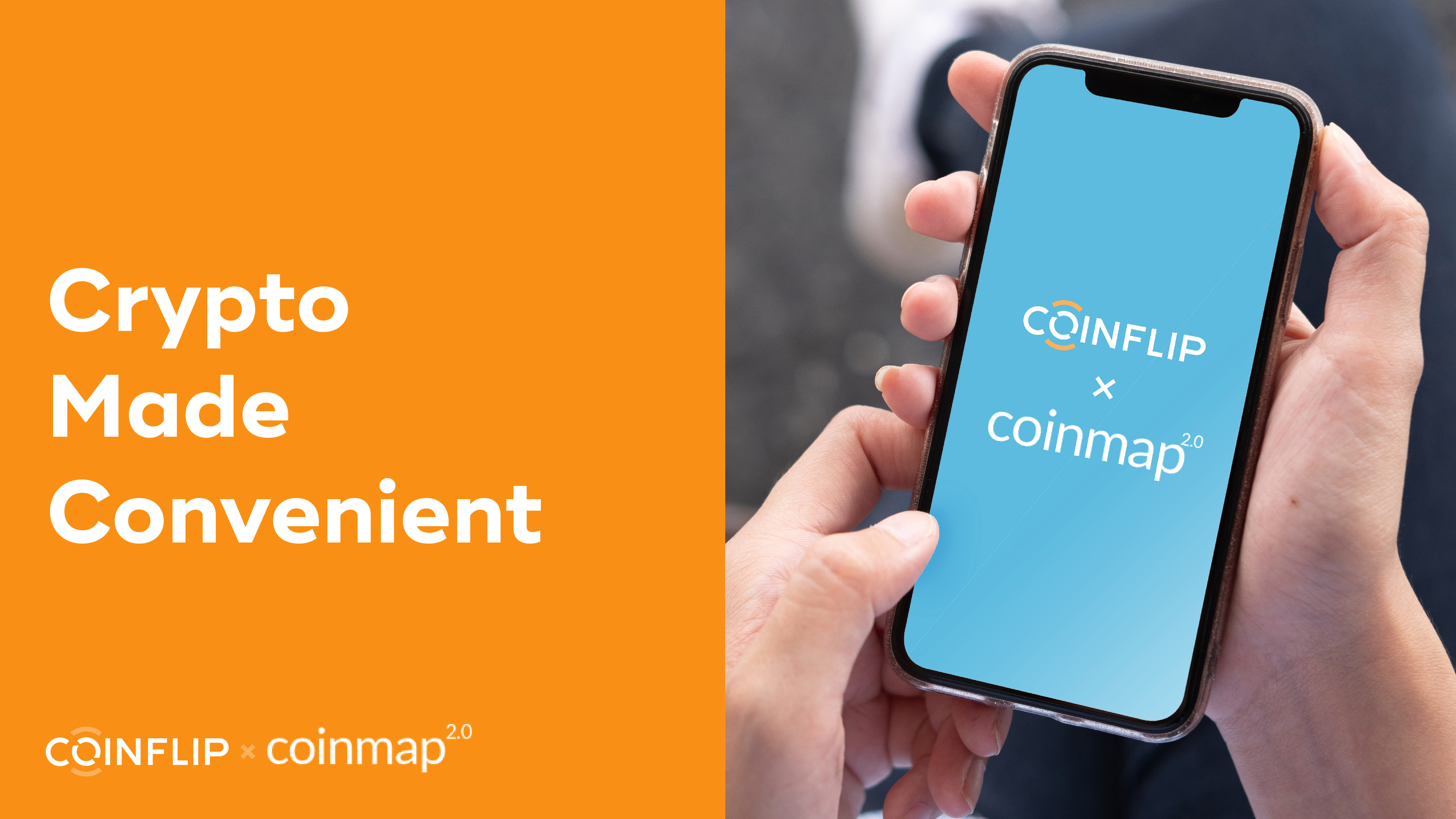 Cover Image for Crypto Made Convenient with CoinFlip and Coinmap
