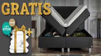 Luxe Boxsprings: Nu met Gratis beddengoedpakket t.w.v. €179,99