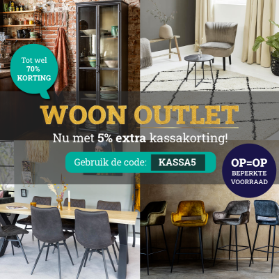 Actie: OUTLET Korting