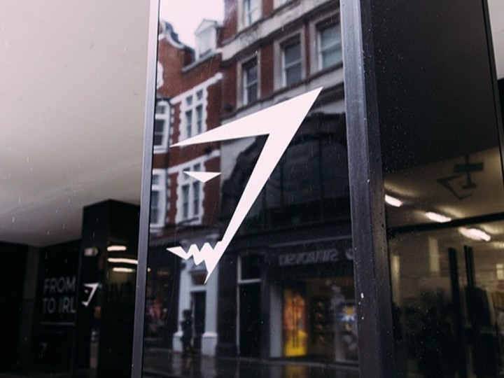 Gymshark London Store: The Feed