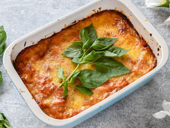 High-Protein Veggie Pasta Bake Recipe