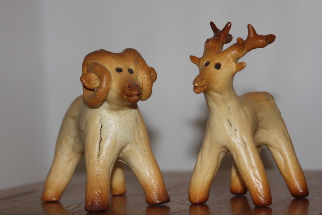 byśki kurpiowskie - pieczywo noworoczne