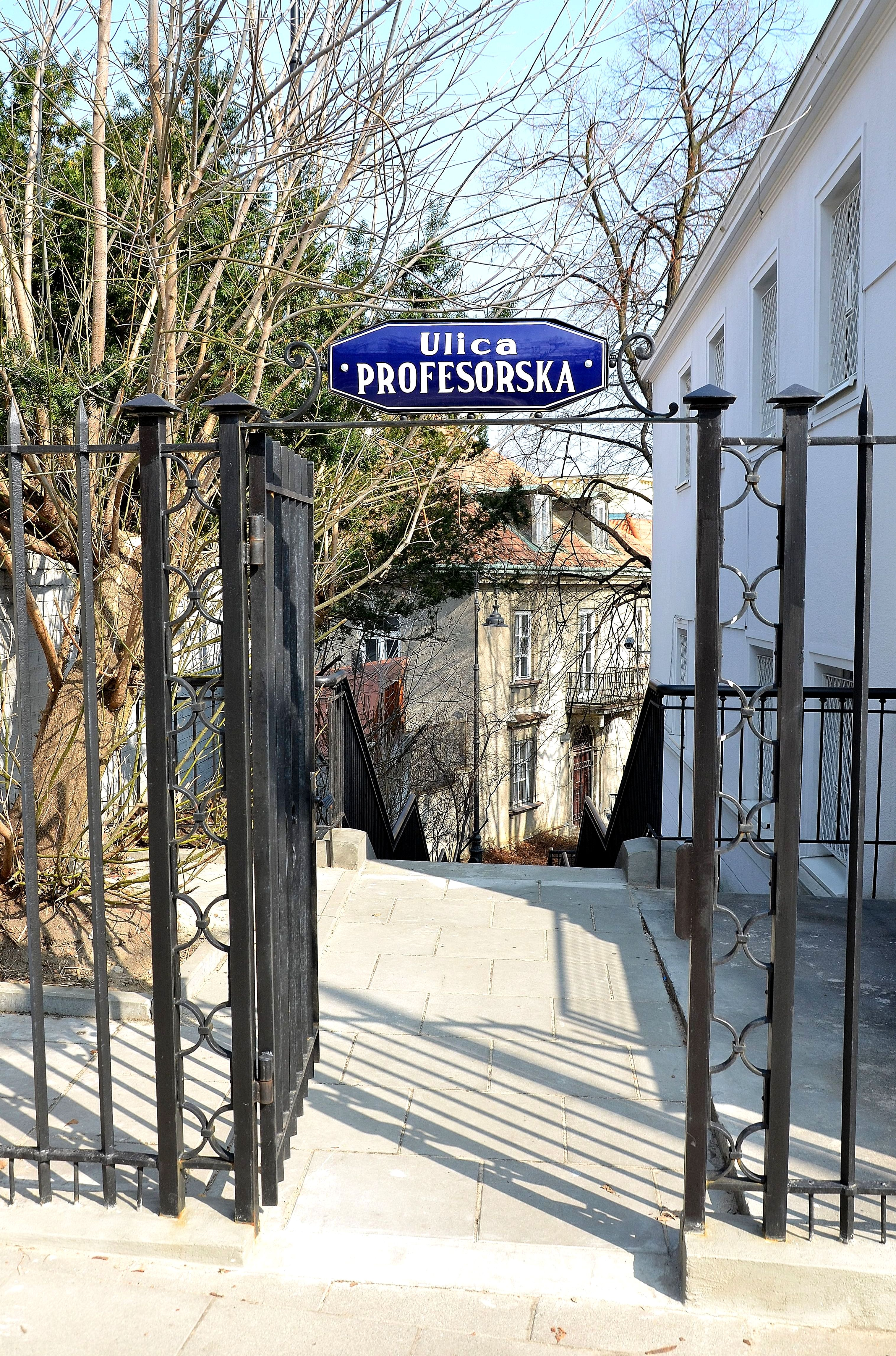 Ulica Profesorska w Warszawie 02 (1)