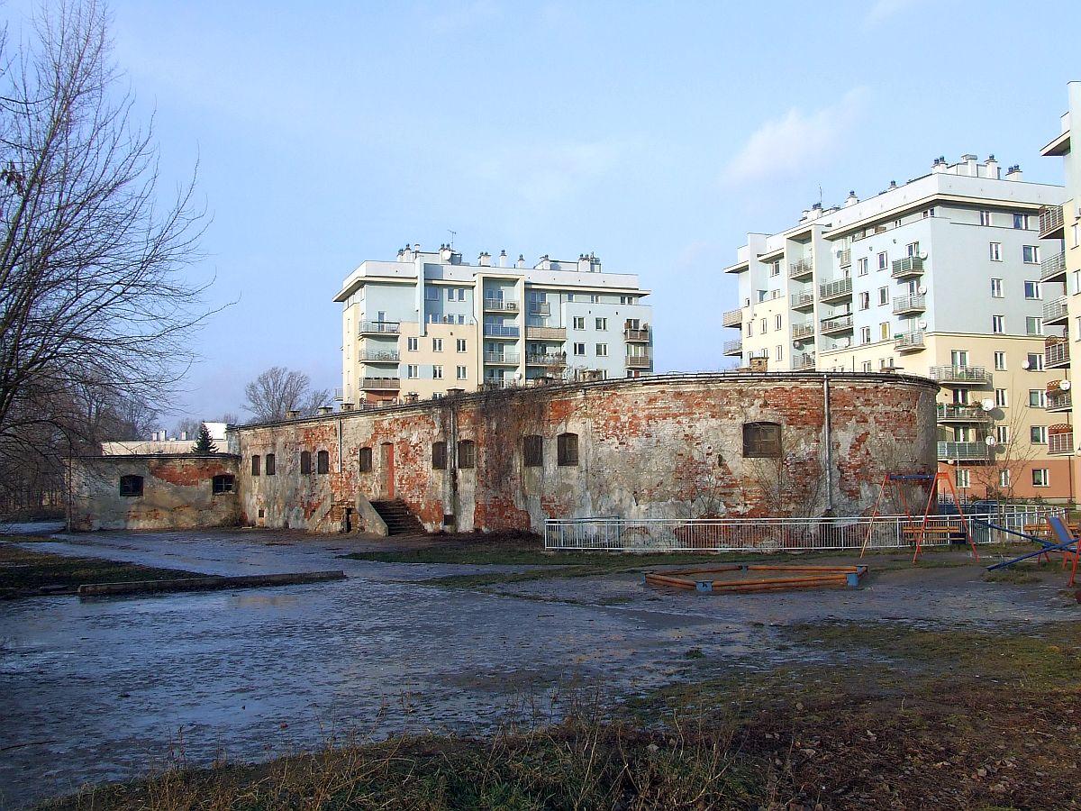 POL Warsaw Fort Sliwickiego dzialobitnia