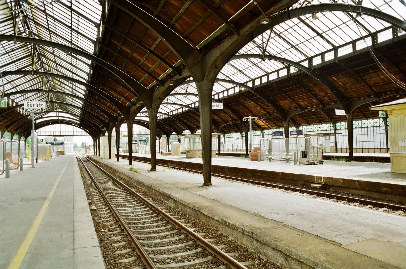 Железнодорожный вокзал в Гёрлице