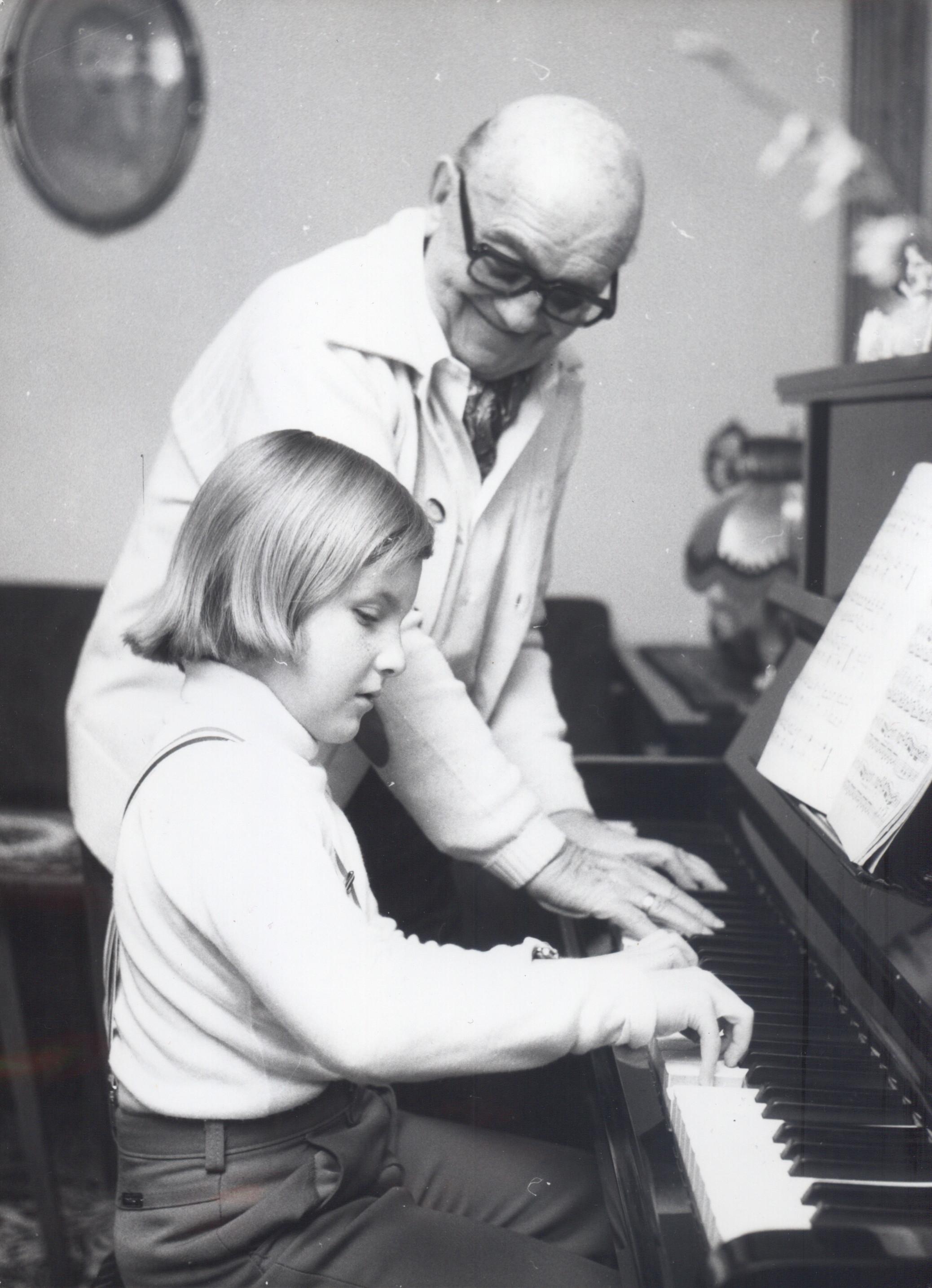 JERZY PETERSBURSKI SENIOR I JERZY PETERSBURSKI JR 1978 r.