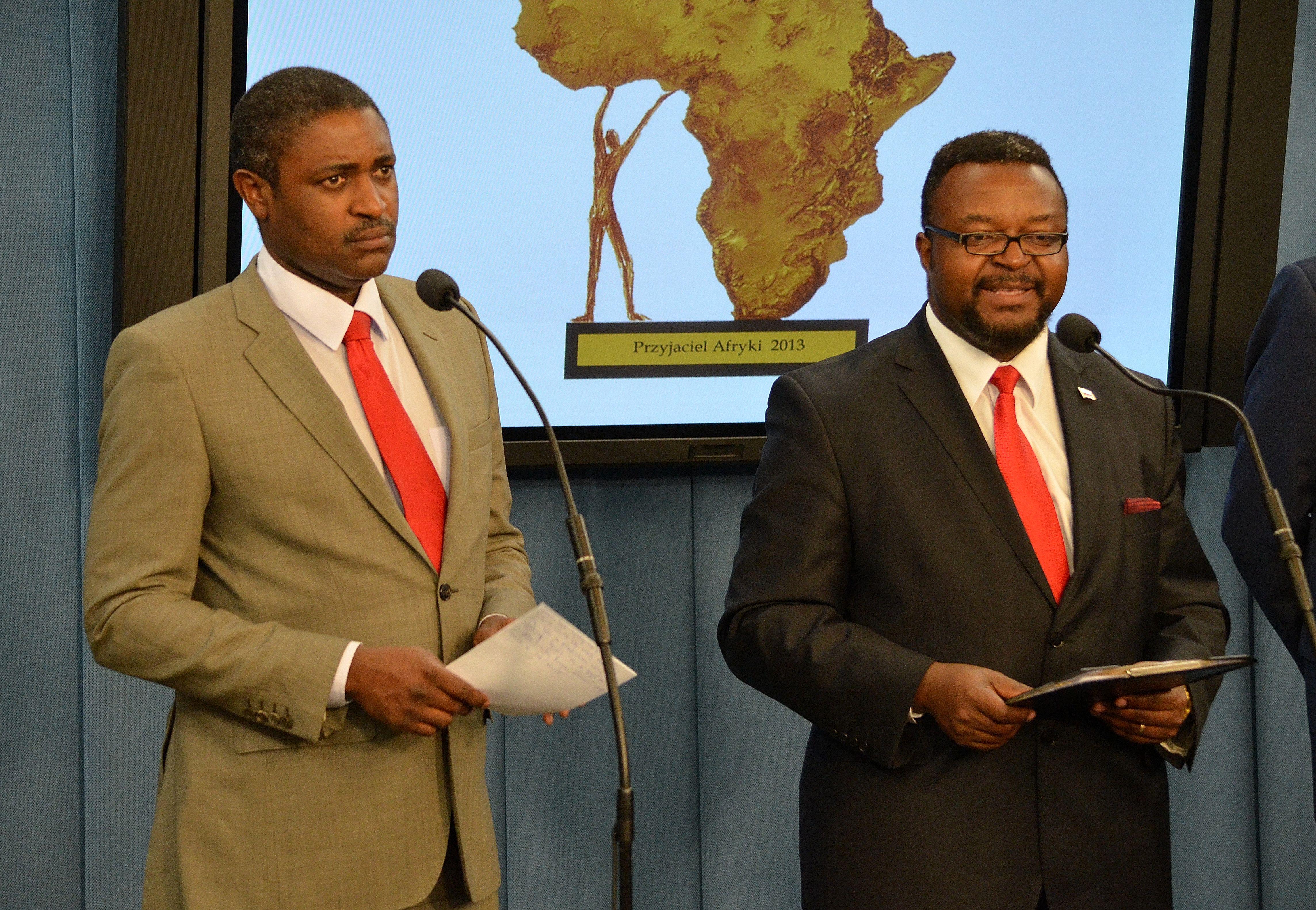 Killion Munyama John Godson Sejm 2013